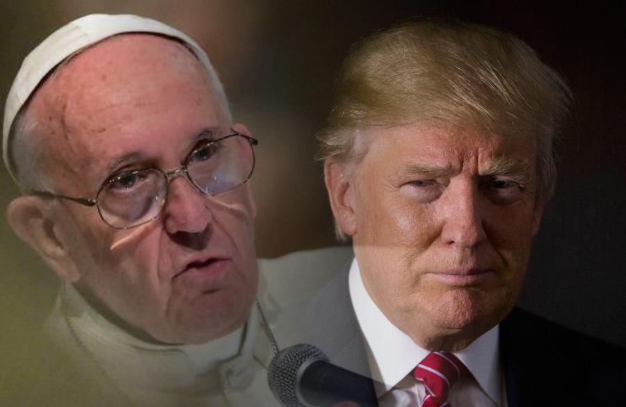 """Trump: """"El Papa desearía que yo sea presidente si el ..."""