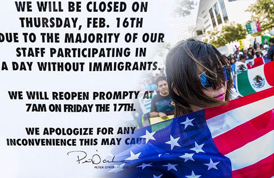 Sin inmigrantes