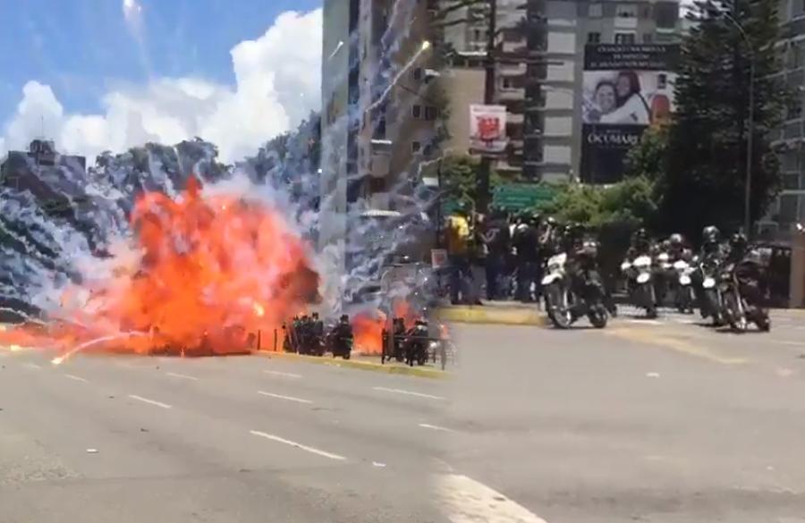 Explosivo - Venezuela